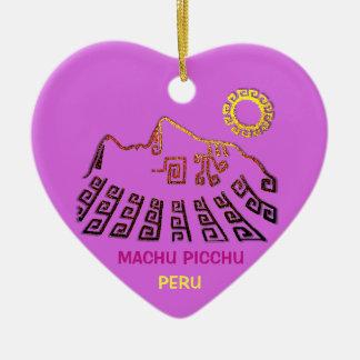 Machu Picchu Cusco Peru Ceramic Ornament