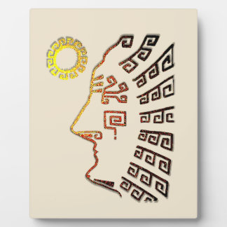 Machu Picchu Drawing Plaque