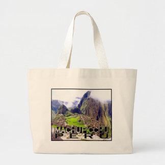 Machu Picchu Large Tote Bag