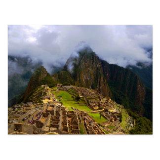 Machu Picchu Overlook, Peru Postcard