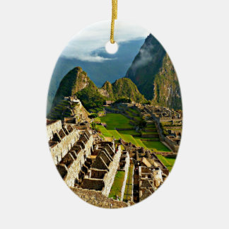 Machu Picchu, Peru Ceramic Ornament