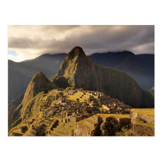"Machu Picchu,  Peru   ""Lost City of the Incas"" Postcard"