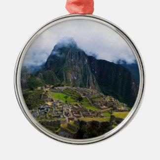 Machu Picchu, Peru Metal Ornament