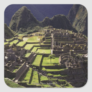 Machu Picchu, Peru Square Sticker
