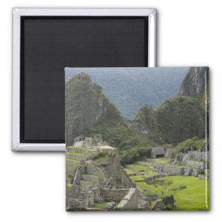 Machu Picchu, ruins of Inca city, Peru. 2 Magnet