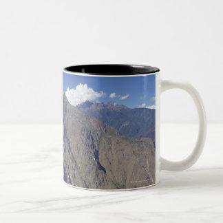 Machu Picchu viewed from Huayna Picchu, UNESCO Two-Tone Coffee Mug