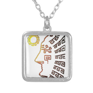 Machupicchu Silver Plated Necklace