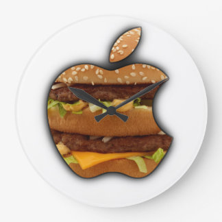Macintosh Apple design wall clock