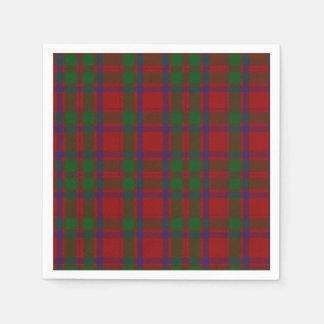 MacIntosh Clan Tartan Plaid Paper Napkins