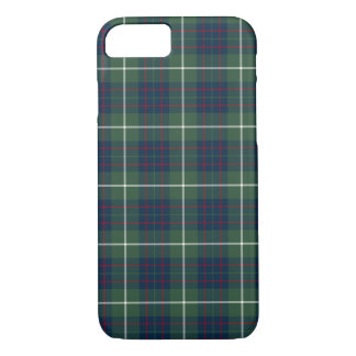 MacIntyre Clan Green Hunting Tartan iPhone 8/7 Case
