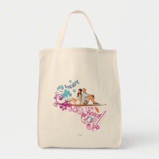 Mack & Brady - My Heart is at the Beach Tote Bag