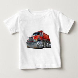 Mack Dump Truck Red Baby T-Shirt
