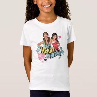Mack & Lela - My Heart is at the Beach T-Shirt