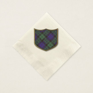 Mackay clan Plaid Scottish tartan Paper Napkins