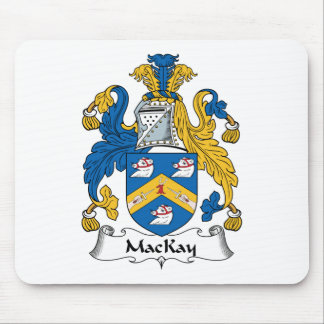 MacKay Family Crest Mouse Pad