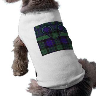 Mackay Scottish tartan Dog T-shirt