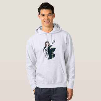 MacKenzie Clan Badge Adult Hoodie