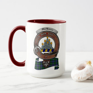 MacKenzie Clan Badge Combo 15oz Mug