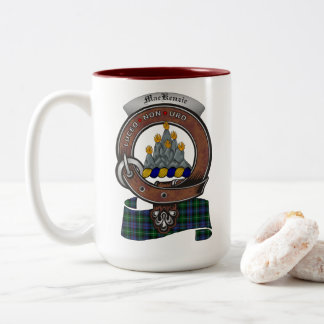 MacKenzie Clan Badge Two Tone 15oz Mug