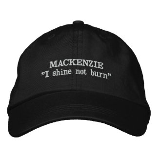 MacKenzie Clan Motto Embroidered Hat