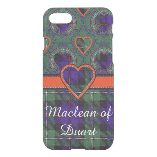 Mackenzie clan Plaid Scottish tartan iPhone 8/7 Case