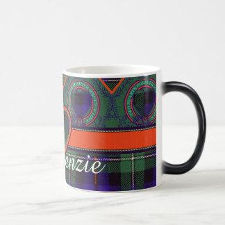 Mackenzie clan Plaid Scottish tartan Magic Mug