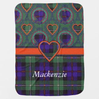 Mackenzie clan Plaid Scottish tartan Stroller Blanket
