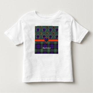 Mackenzie clan Plaid Scottish tartan Toddler T-shirt