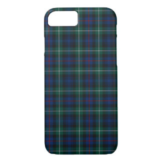 Mackenzie Clan Royal Blue and Forest Green Tartan iPhone 8/7 Case