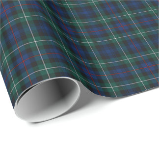 Mackenzie Clan Tartan Wrapping Paper