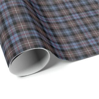 Mackenzie Clan Weathered Tartan Wrapping Paper