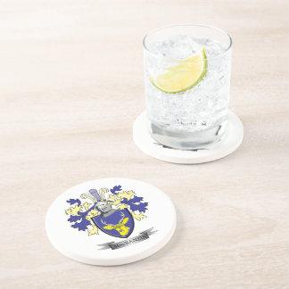 MacKenzie Family Crest Coat of Arms Beverage Coasters