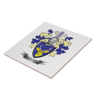 MacKenzie Family Crest Coat of Arms Ceramic Tiles