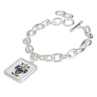 MacKenzie Family Crest Coat of Arms Charm Bracelets