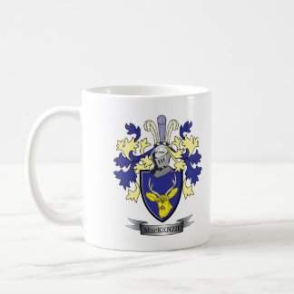 MacKenzie Family Crest Coat of Arms Coffee Mug