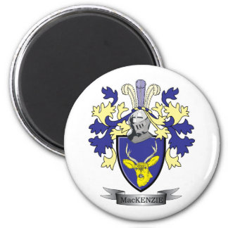 MacKenzie Family Crest Coat of Arms Magnet