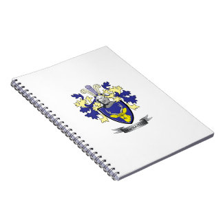 MacKenzie Family Crest Coat of Arms Notebook