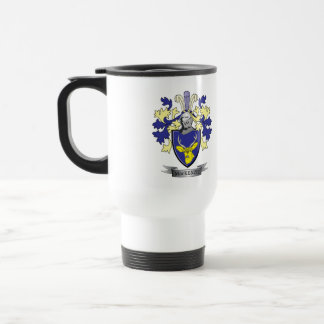 MacKenzie Family Crest Coat of Arms Travel Mug