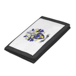 MacKenzie Family Crest Coat of Arms Trifold Wallet