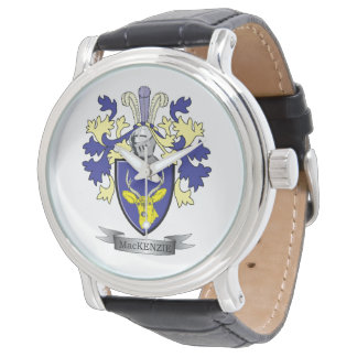 MacKenzie Family Crest Coat of Arms Watch