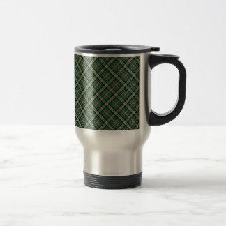 Mackenzie/McKenzie Clan Tartan Designed Print Travel Mug