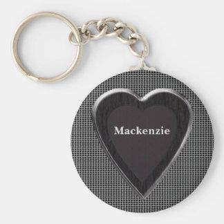 Mackenzie Stole My Heart Keychain
