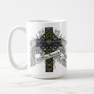 MacKenzie Tartan Cross Coffee Mug