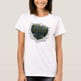 MacKenzie Tartan Heart T-Shirt