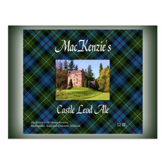 MacKenzie's Castle Leod Ale Postcard