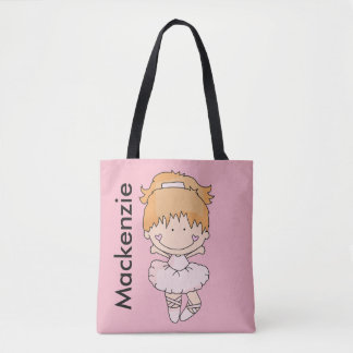 Mackenzie's Personalized Ballet Bag
