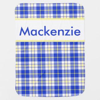 Mackenzie's Personalized Blanket Stroller Blankets