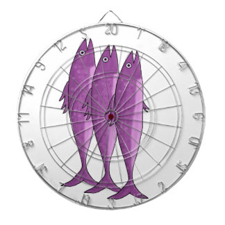 Mackerel - magenta dartboards