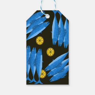 Mackerel meal pack of gift tags