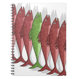 Mackerel military 2 spiral note book